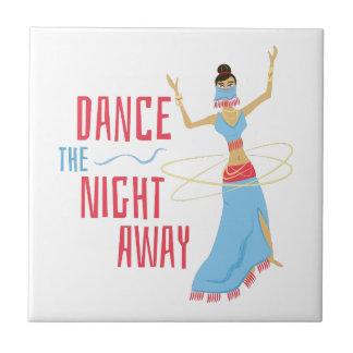 Tanz-Nacht weg Keramikfliese