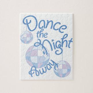Tanz-Nacht weg Puzzle