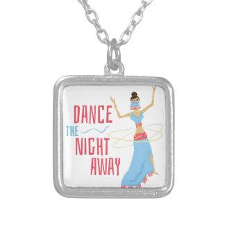 Tanz-Nacht weg Versilberte Kette