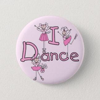 Tanz-T - Shirts und Geschenke der Ballerina-I Runder Button 5,7 Cm