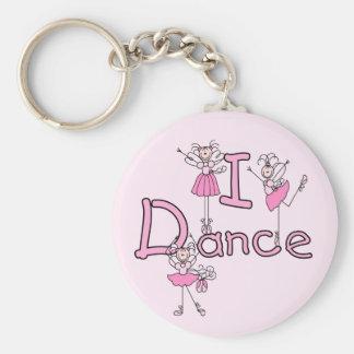 Tanz-T - Shirts und Geschenke der Ballerina-I Schlüsselanhänger