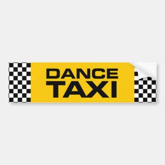 Tanz-Taxi Autoaufkleber