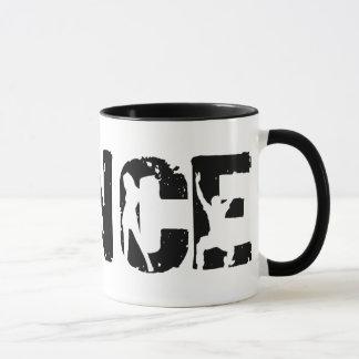 TANZ! Urheber und Schüttele-Apparat Tasse