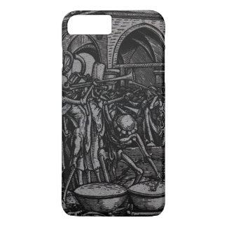 Tanz von Tod | die Knochen aller Männer iPhone 8 Plus/7 Plus Hülle