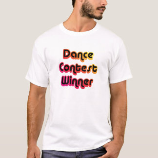 Tanz-Wettbewerb-Sieger T-Shirt