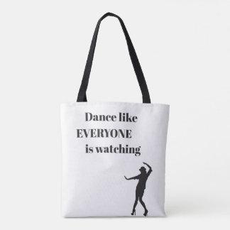 Tanz wie JEDER passt - Taschen-Tasche auf Tasche