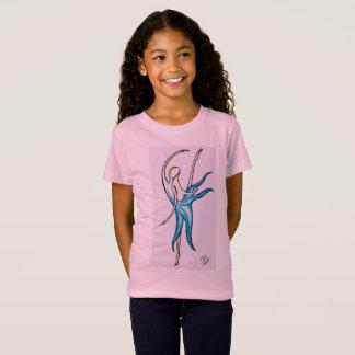 Tanz wie niemand passt T - Shirt für Mädchen auf