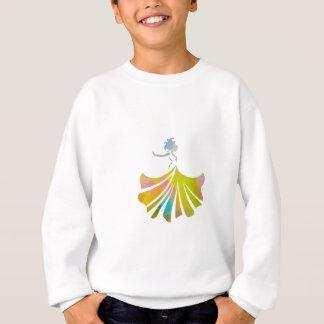 Tanz wie niemand passt Tanzendame auf Sweatshirt