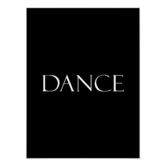 Tanz zitiert inspirierend Tanzen-Zitat Poster