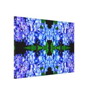 Tanzanite Hydrangeas Leinwanddruck