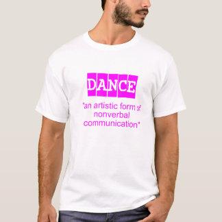 Tanzdefinitionsrosa T-Shirt