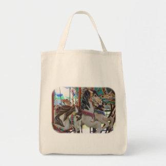 Tänzelnde Karussell-PferdeTaschen-Tasche Tragetasche