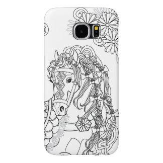 Tänzelndes Gänseblümchen-Pferd Samsung S6