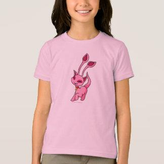 Tänzelndes rosa Aisha T-Shirt