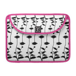 Tanzen-Blumen-Fallrosa Sleeves Für MacBook Pro
