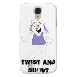Tanzen-Cartoon-Kaninchen Galaxy S4 Hülle
