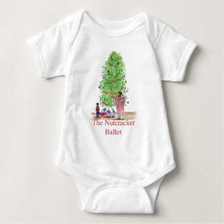 Tanzen-Clara-Nussknacker-T-Shirts u. Geschenke Baby Strampler