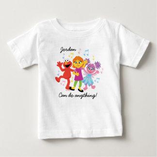 Tanzen des Sesame Street-| Julia, Elmo u. Abby Baby T-shirt