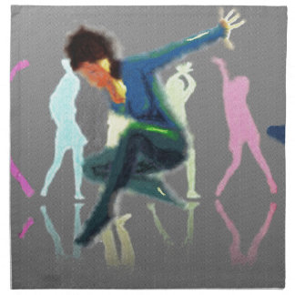 Tanzen für Freude-Kunst Stoffserviette