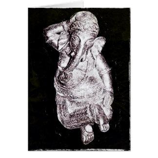 Tanzen Ganesh Vielzweckgruß-Karte Karte
