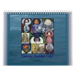 Tanzen-Göttin-Puppen-Kalender Wandkalender