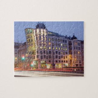 Tanzen-Haus-Prag-Andenken-Foto Puzzle