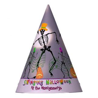 Tanzen mit den Knochen Halloween Partyhütchen