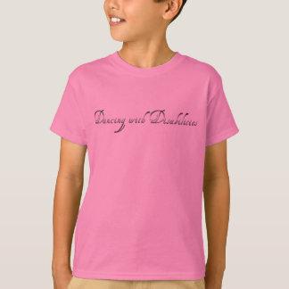 Tanzen mit Unfähigkeit - Ballerina T-Shirt