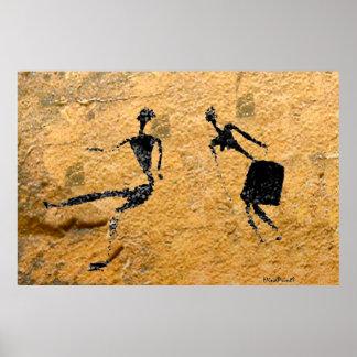 Tanzen-Paare Poster