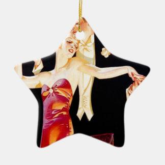 Tanzen-Prallplatte Keramik Stern-Ornament