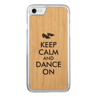 Tanzen-Schuhe behalten Ruhe und tanzen an Carved iPhone 8/7 Hülle