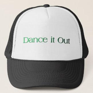 Tanzen Sie es verkaufen heraus; Tanzen Sie Zitate Truckerkappe