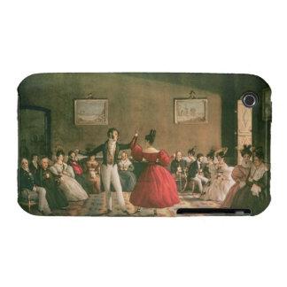 Tanzen Sie in einen Salon in Buenos Aires, c.1831  iPhone 3 Hülle