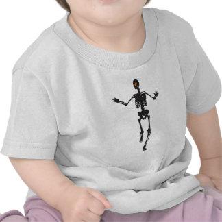 Tanzen-Skelett T-Shirts