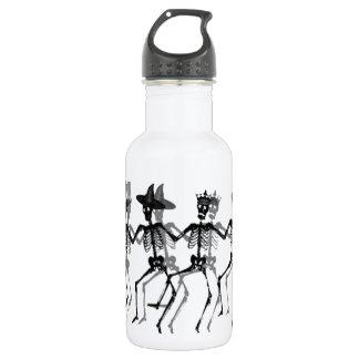 Tanzen-Skelette Edelstahlflasche