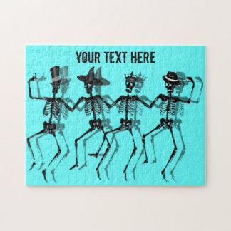 Tanzen-Skelette Puzzle