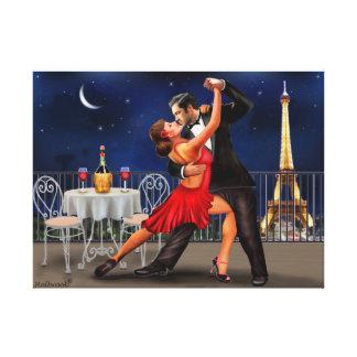 Tanzen unter die Sterne Leinwanddruck