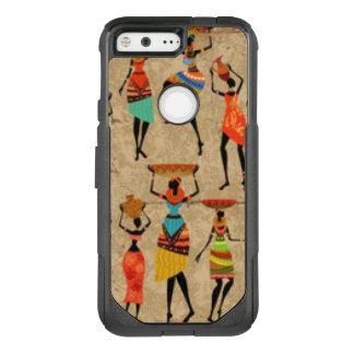 Tanzende afrikanische Damen OtterBox Commuter Google Pixel Hülle