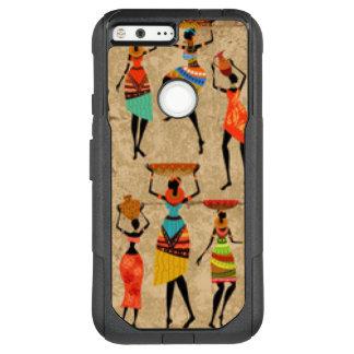 Tanzende afrikanische Damen OtterBox Commuter Google Pixel XL Hülle