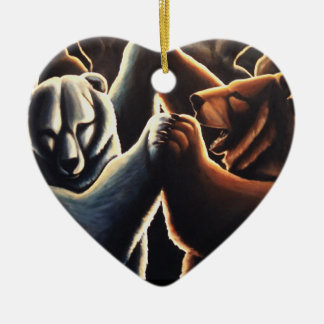 Tanzende Bärn-Verzierungs-multikulturelle Keramik Ornament