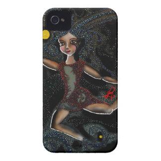 Tanzendes kosmisches Faye. Case-Mate iPhone 4 Hülle