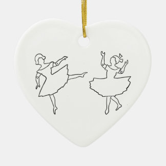 Tänzer-Ausschnitt-Illustration Keramik Ornament