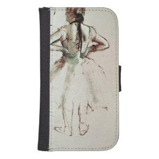 Tänzer Edgar Degass | angesehen von der Rückseite Phone Geldbeutel