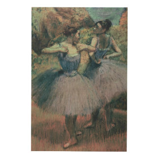 Tänzer Edgar Degass | im Veilchen Holzleinwand