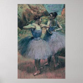 Tänzer Edgar Degass | im Veilchen Poster