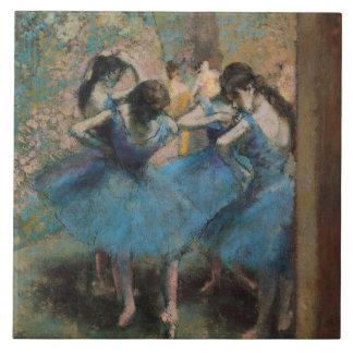 Tänzer Edgar Degass | in Blau, 1890 Fliese