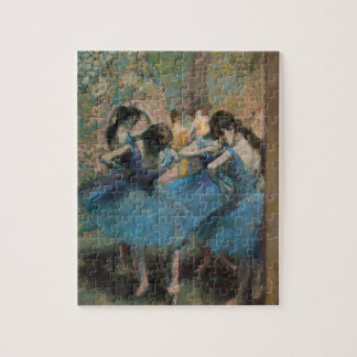 Tänzer Edgar Degass | in Blau, 1890 Puzzle