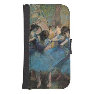 Tänzer Edgar Degass | in Blau, 1890 Samsung S4 Geldbeutel Hülle