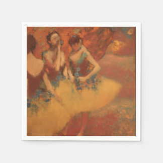 Tänzer Edgar Degass | in den gelben Röcken Servietten
