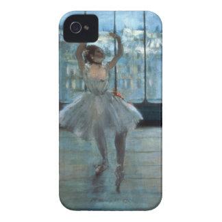 Tänzer Edgar Degass | vor einem Fenster iPhone 4 Hülle